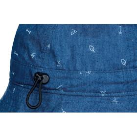 Buff Bucket Hat Enfant, arrows denim